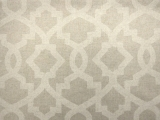 Grey Imperial Trellis Cotton Canvas Print0