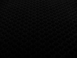 Stretch Cotton Poly Blend Pique in Black0